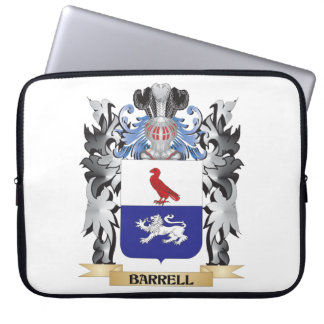 Barrell Coat of Arms - Family Crest Laptop Computer Sleeve
