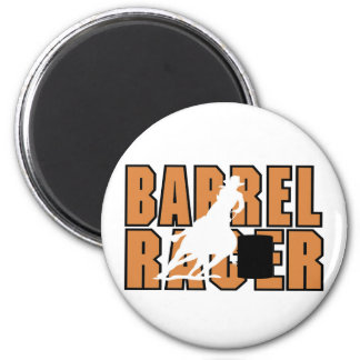 Barrell Racer T-shirts and Gifts. 2 Inch Round Magnet
