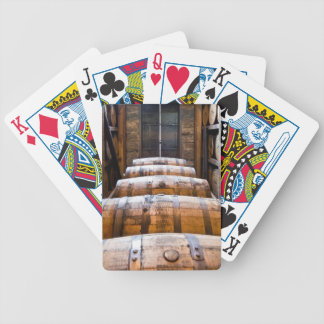 barrels bicycle playing cards