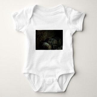 Barrels dark painterly baby bodysuit