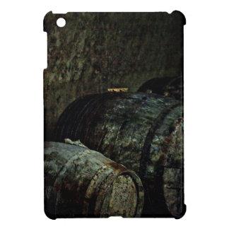 Barrels dark painterly iPad mini cases