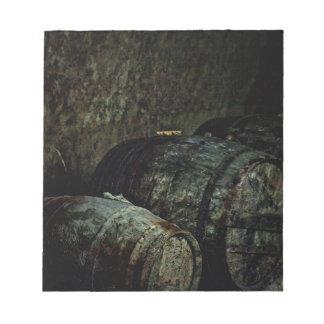 Barrels painterly oscuro libretas para notas