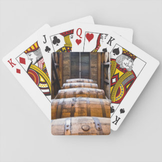 barrels playing cards