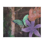 Barren and Lush Gallery Wrapped Canvas