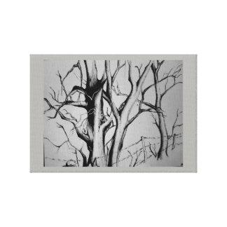 Barren Beauty Canvas Print