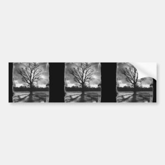 Barren Branches Tree Bumper Stickers