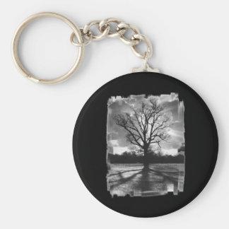 Barren Branches Tree Keychain