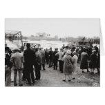 Barren Fork River in Flood Greeting Card