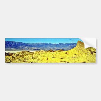 Barren Landscape Bumper Sticker