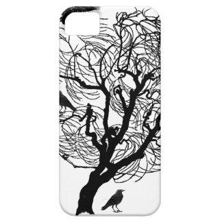 Barren Raven Crow Tree iPhone SE/5/5s Case