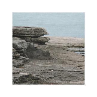 Barren Rock 1 Canvas Print