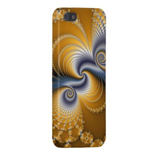 Barrena de cola - arte del fractal iPhone 5 protector