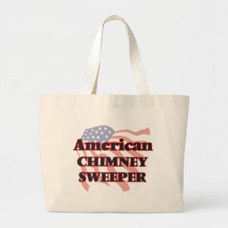 Barrendero americano de la chimenea bolsa tela grande