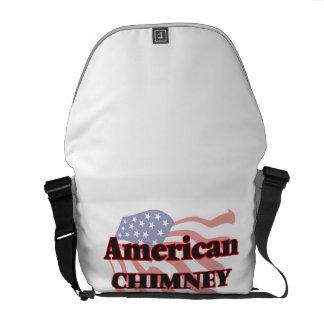 Barrendero americano de la chimenea bolsas de mensajería
