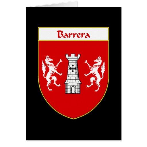 Barrera Coat of Arms Card