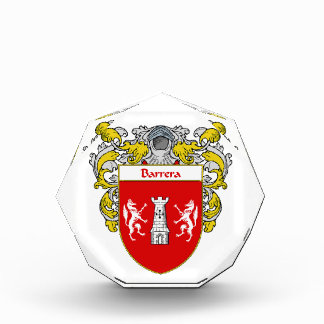 Barrera Coat of Arms Family Crest Awards