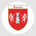 Barrera Coat of Arms Stickers