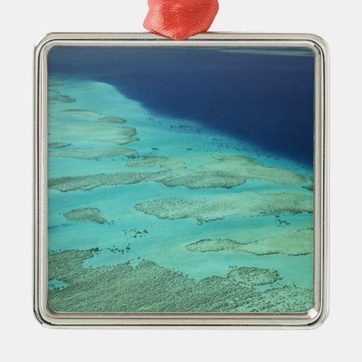 Barrera de arrecifes de Malolo de la isla de Ornaments Para Arbol De Navidad