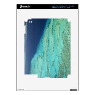 Barrera de arrecifes de Malolo de la isla de Malol iPad 3 Skin