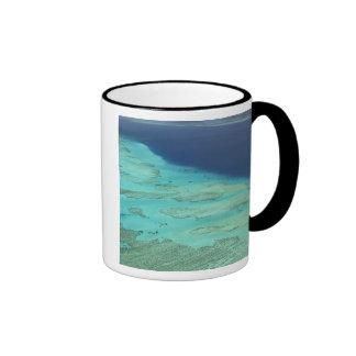 Barrera de arrecifes de Malolo de la isla de Malol Taza De Café