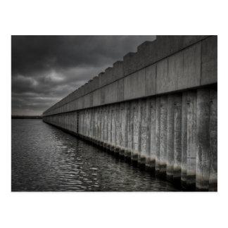 Barrera de la oleada de Borgne del lago Postal