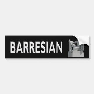 Barresian Bumper Sticker