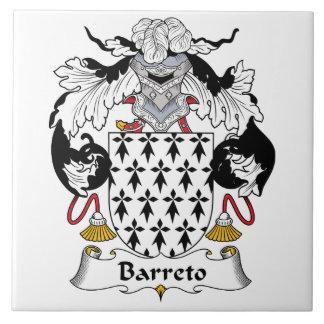 Barreto Family Crest Tile
