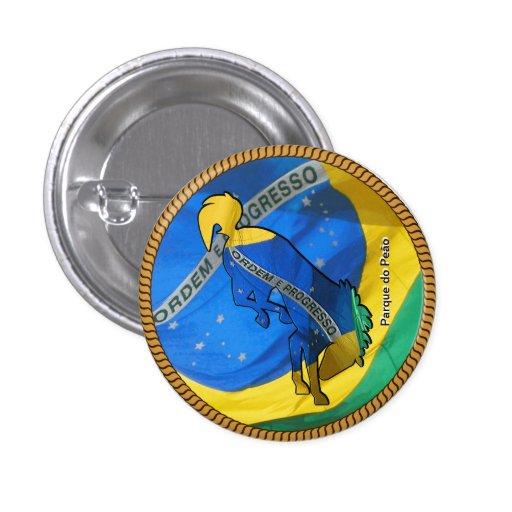 Barretos Brazil Rodeo Boton Pins