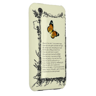 Barrett Browning, Sonnets from the Portuguese # 43 Case-Mate iPhone 3 Case