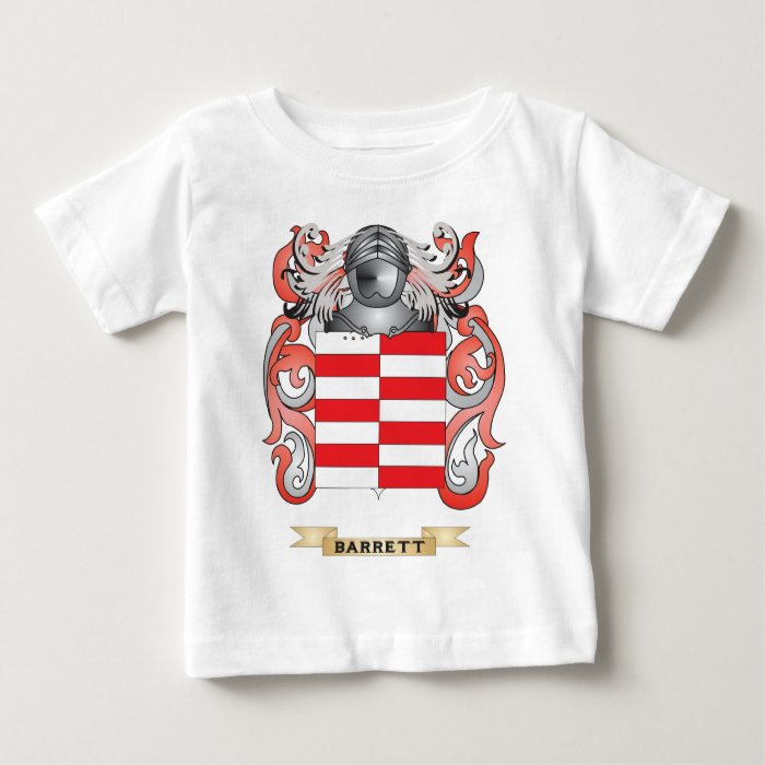Barrett Coat of Arms (Family Crest) Baby T-Shirt