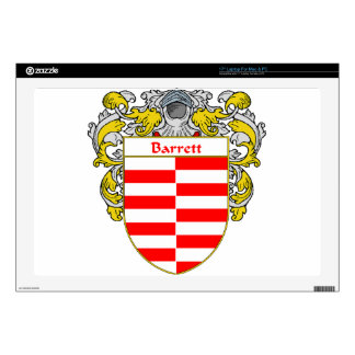 Barrett Coat of Arms/Family Crest Decals For Laptops