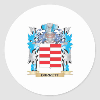 Barrett Coat of Arms Stickers