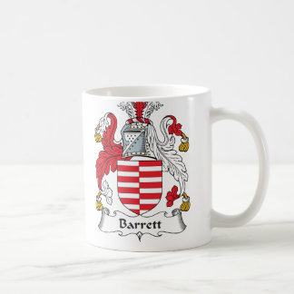 Barrett Family Crest Classic White Coffee Mug