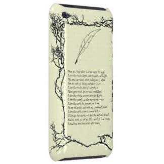 Barrett que broncea, sonetos de los # 43 portugues iPod touch Case-Mate cárcasas