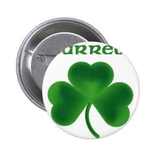 Barrett Shamrock Button