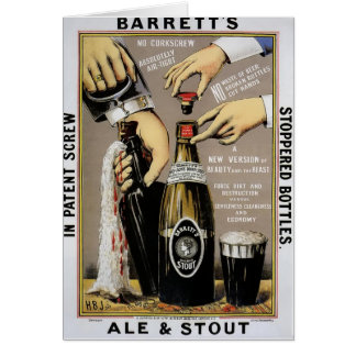 Barretts Ale & Stout Greeting Card