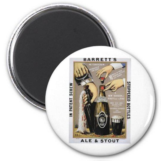 Barretts Ale & Stout Magnet