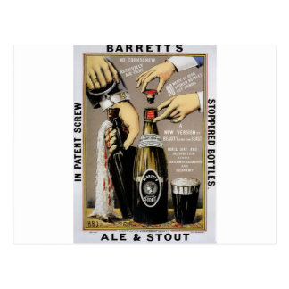 Barretts Ale & Stout Postcard