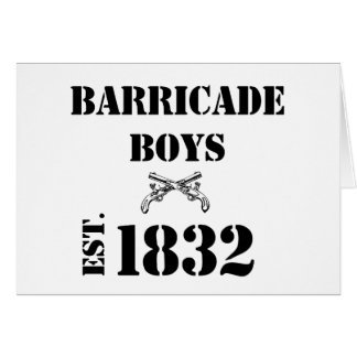 Barricade Boys Odds and Ends Cards