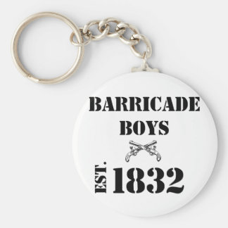 Barricade Boys Odds and Ends Basic Round Button Keychain