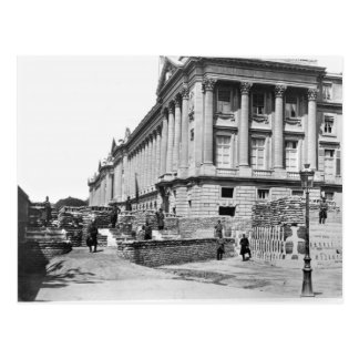 Barricade during the Commune of Paris Post Card