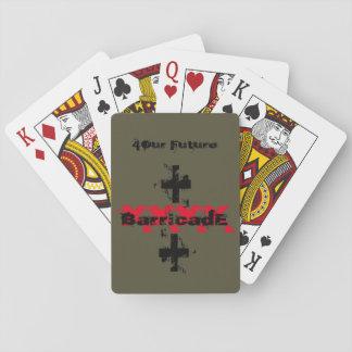 BarricadE XXXX CROSS Playing Cards