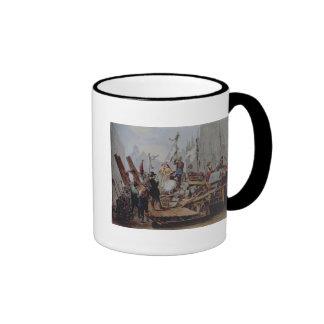 Barricades in the Stephansplatz, Vienna, 1848 Coffee Mug