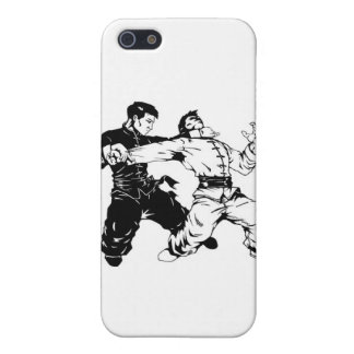 barrido del fu del kung iPhone 5 carcasa
