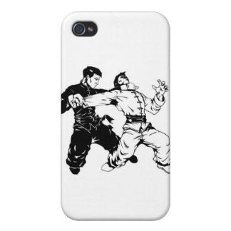 barrido del fu del kung iPhone 4 carcasas