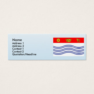 Barrie, Canada Mini Business Card