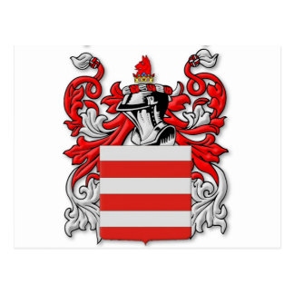 Barrie Coat of Arms Postcard