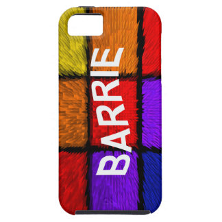 BARRIE ( male names ) iPhone 5 Covers
