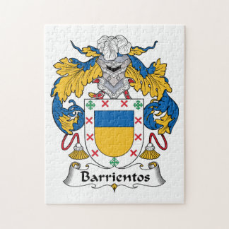 Barrientos Family Crest Jigsaw Puzzle