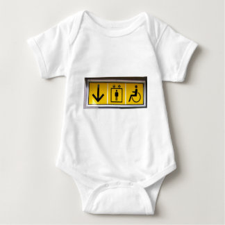 Barrier-free-access-in-local-public-transport Baby Bodysuit